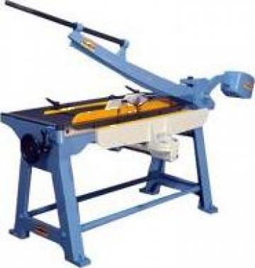 Foarfeca pentru tabla Raptor HTS 1050 de la Seta Machinery Supplier Srl