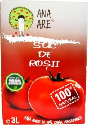 Suc de rosii 100% natural 3 litri de la Avdat It Srl.