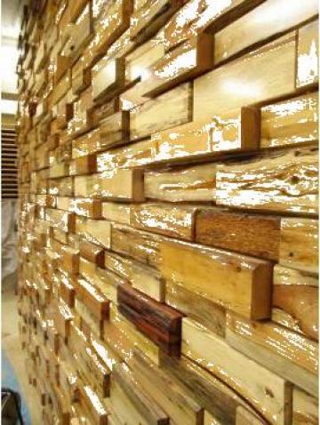 Mozaic din lemn, mozaic decorativ