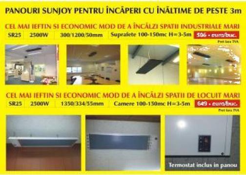 Panouri radiante industriale Sunjoy de la Sic Design Srl