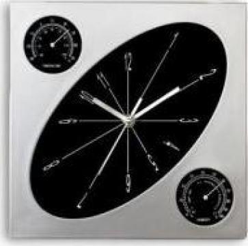 Ceasuri de perete cu rama de plastic de la Adco Design Trading Srl