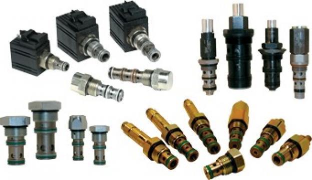 Electrovalve hidraulice pentru utilaje