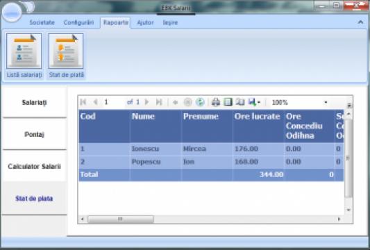 Software EBK Salarii de la Ebk Soft