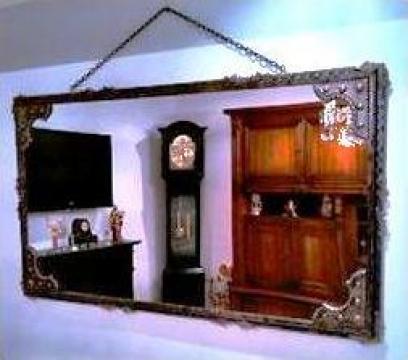 Oglinda perete din fier forjat 150cm x 80cm de la