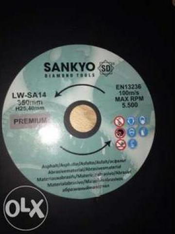 Disc diamantat beton / asfalt Sankyo de la