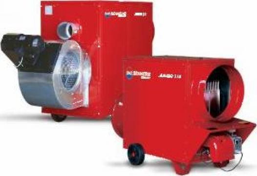 Generator de aer cald mobil de capacitate mare Jumo 200TC de la Electrotools Srl