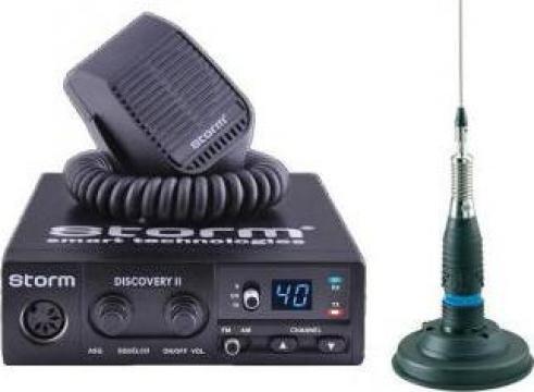 Statie radio Storm Discovery II ASQ HL