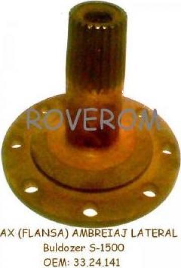 Ax (flansa) ambreiaj lateral buldozer S-1500 de la Roverom Srl