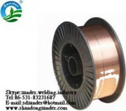 Sarma sudura MIG/MAG SG2, dimensiune 0.8mm de la Shandong Zander Resourcing Company Limited