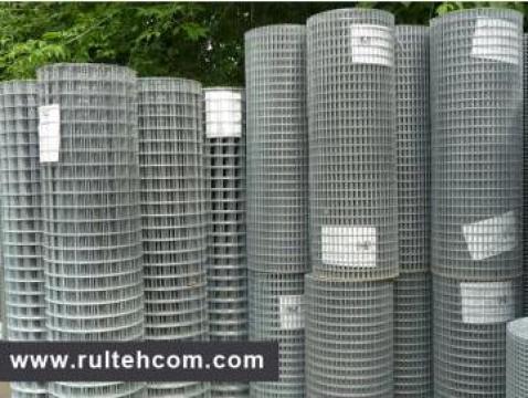 Plasa sudata zincata de la Rultehcom Srl