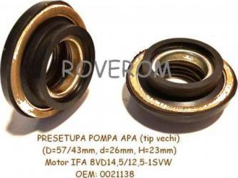 Presetupa pompa apa motor IFA 4VD, 6VD, 8VD (57/43x26x23mm)