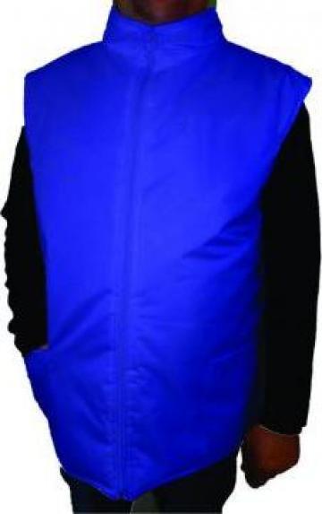 Vesta matlasata albastra