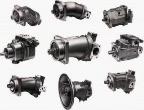 Reparatii pompe hidraulice cu pistoane axiale Rexroth de la Hidraulica UM Plopeni SA