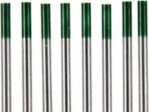 Electrozi wig-tig wolfram marcaj verde 1.6mm de la Plasmaserv Srl