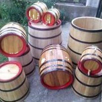 Butoaie din lemn de stejar, salcam sau dud de la PFA Tanase Victor