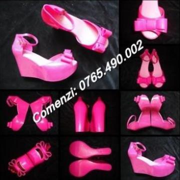 Sandale cu platforma albe, bej, nude, roz fucsia, negre de la Cieaura