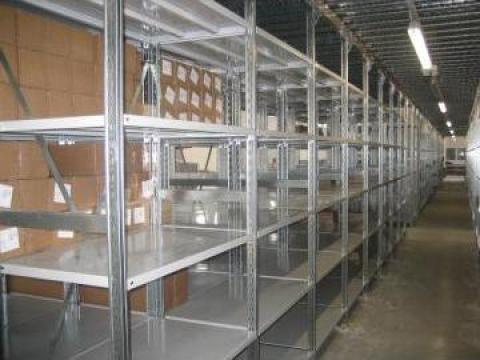 Rafturi metalice cu polite 600*1000*3000H, 6 nivele de la Racks Metal Srl