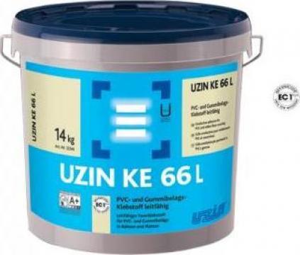 Adeziv conductiv pentru acoperitoare din PVC Uzin KE 66 L