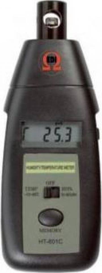 Tester digital umiditate si temperatura T057 de la Gabcors Instruments Srl