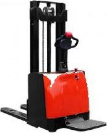 Stivuitor electric pietonal cu platforma 1200kg