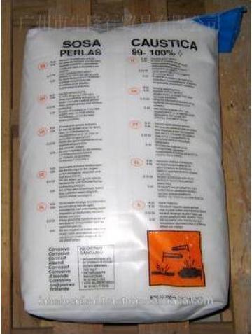 Soda caustica perle sac 25 Kg