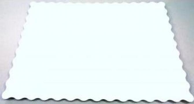 Tavi tort albe 30x36 cm de la M & C Packing