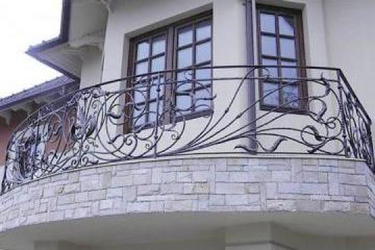 Balcon fier forjat B3 de la Stefiart Design Srl