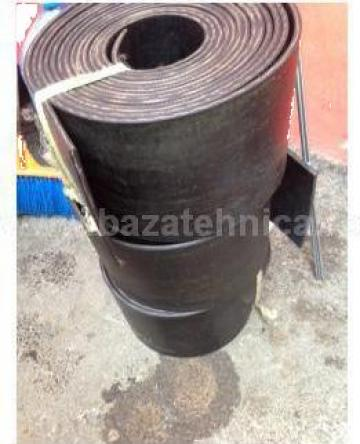 Banda cauciuc elevator 5 mm cu 2 insertii textile de la Baza Tehnica Alfa Srl
