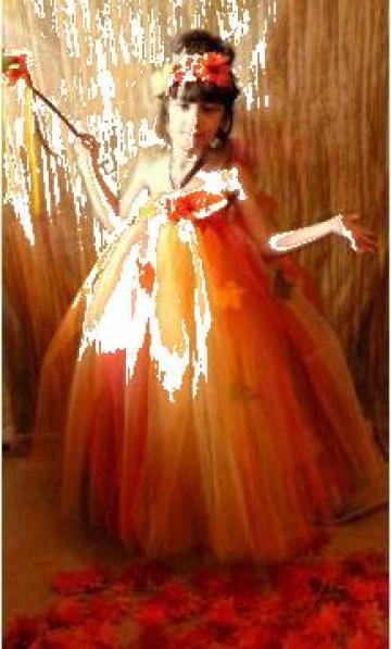 Rochie serbare fetite Zana Toamna 134