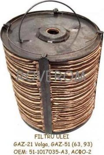 Filtru ulei motor CH8,5/11, CH9,5/11, 5D2, 5D2-1 de la Roverom Srl