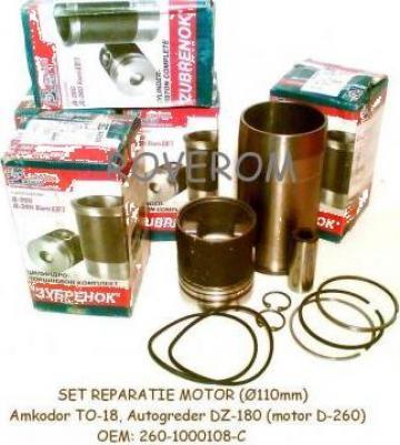 Set reparatie motor (110mm), motor D-245, D-260, Amkodor