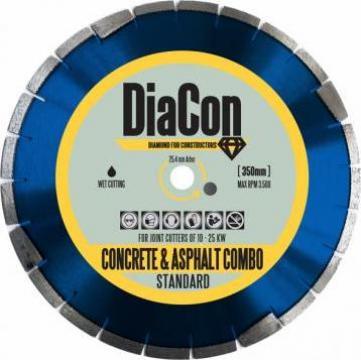 Disc diamantat laser mixt beton-asfalt DiaCon Combo Standard de la Imocon Srl