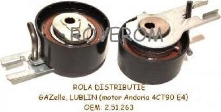 Rola distributie GAZelle, Lublin  (motor Andoria ADCR-1201)