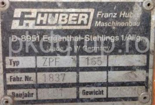 Lama zapada F Huber ZPF165 de la Pkd Grup