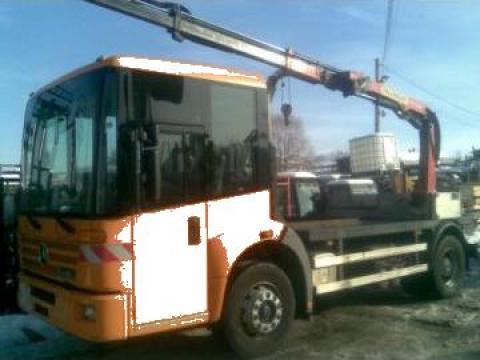 Camion cu macara telescopica Palfinger PK 7000 de la Pkd Grup