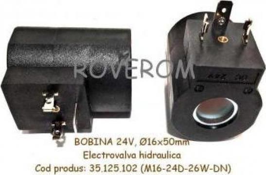 Bobina 24V, D16X50mm, John Deere 810, 1010, 1110, 1410 de la Roverom Srl