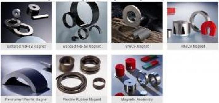 Magneti personalizati NdFeB, Ferrite, Alnico, SmCo de la Binic Magnet