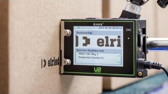 Echipament marcare, identificare Anser U2 Injet de la Doral Hall Coding Srl