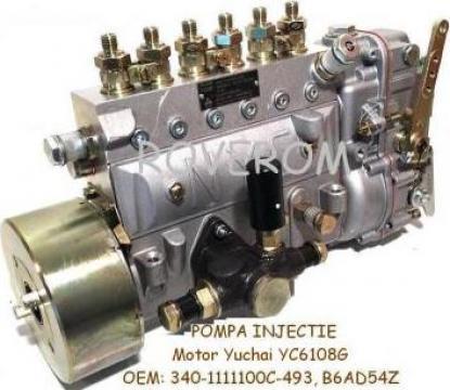 Pompa injectie Yuchai 6108G, XCMG ZL30G, ZL50G, YTO LT214 de la Roverom Srl