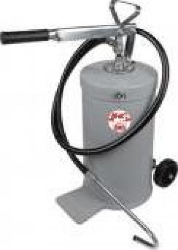 Pompa manuala transfer ulei cu rezervor de 16 kg de la Edy Impex 2003