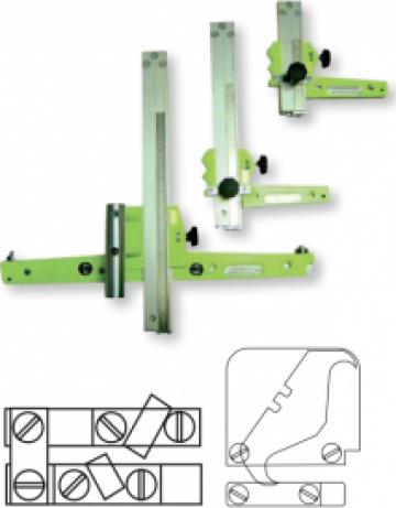 Dispozitiv pentru taiat fasii de material Strip cutter de la Alveco Montaj Srl