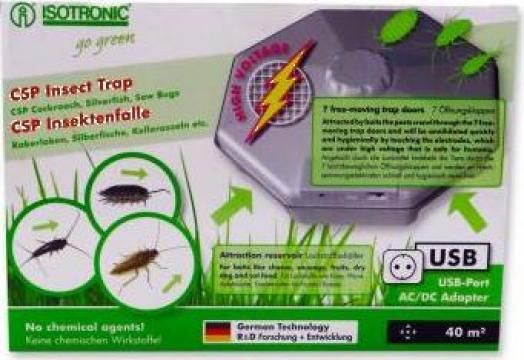 Capcana anti insecte, gandaci, gandaci de canal de la Agan Trust Srl