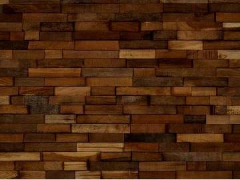 Tapet pentru pereti din lemn de teak Orkney