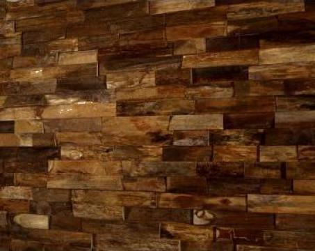 Tapet perete din lemn de teak Arran