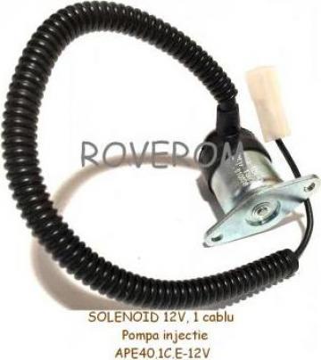 Solenoid 12V, pompa injectie Motorpal PP4M10P1i, PP6M10P1i de la Roverom Srl