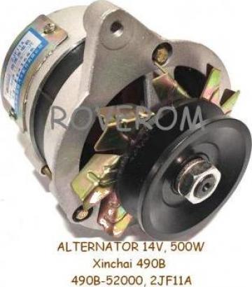Alternator Xinchai 490B, Hangcha Stivuitor, 14V, 500W de la Roverom Srl