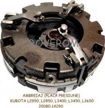 Ambreiaj (placa presiune) Kubota L2850, L2950, L3400, L3450 de la Roverom Srl
