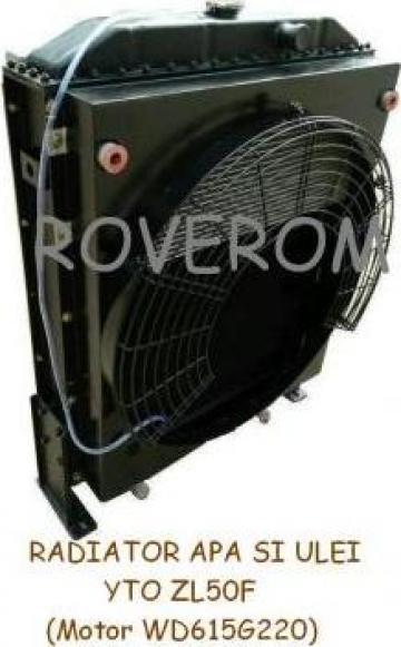 Radiator apa si ulei YTO ZL50F (Motor WD615G220)
