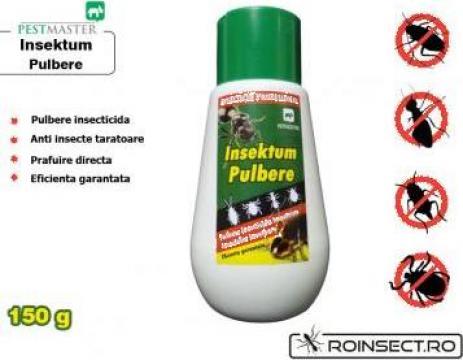 Insecticid cu atractant in combaterea gandacului negru de la Agan Trust Srl