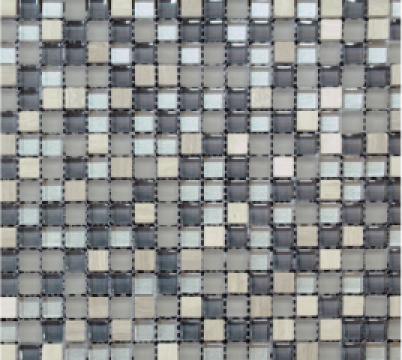 Mozaic marmura si sticla MMX009 de la Settimo Concept